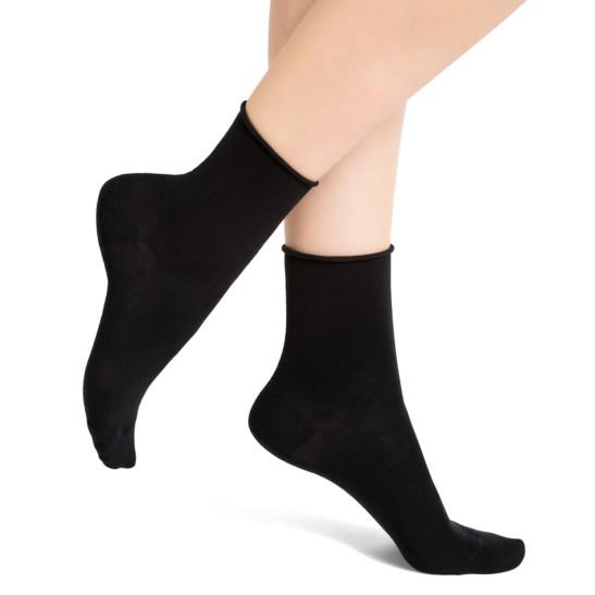 Velvet Cotton Ankle Socks