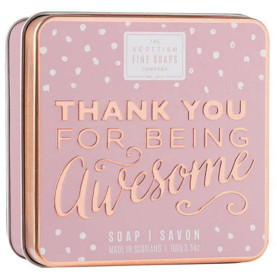 Soap In A Tin - Thank You