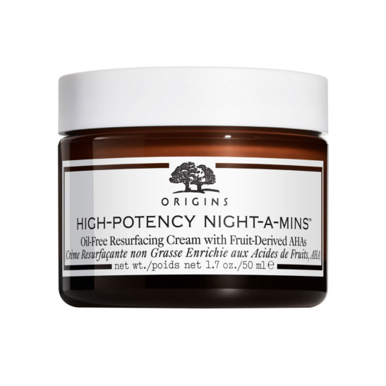 HighPotency NightAMins™ OilFree Resurfacing Cream with FruitDerived AHAs