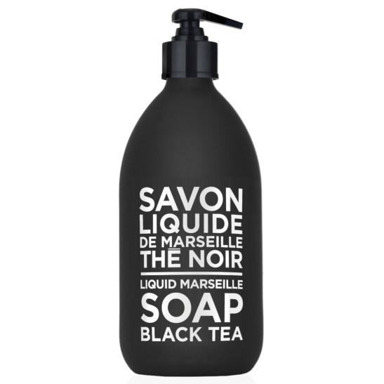 LIQUID MARSEILLE SOAP GLAS BLACK TEA