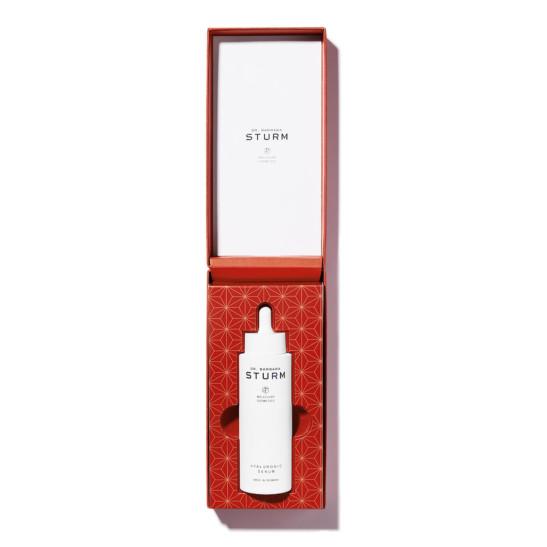Hyaluronic Serum red packaging