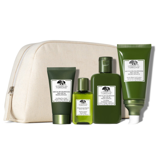 Dr. Andrew Weil for Origins™ Mega Mushroom Soothe. Calm & Hydrate Set