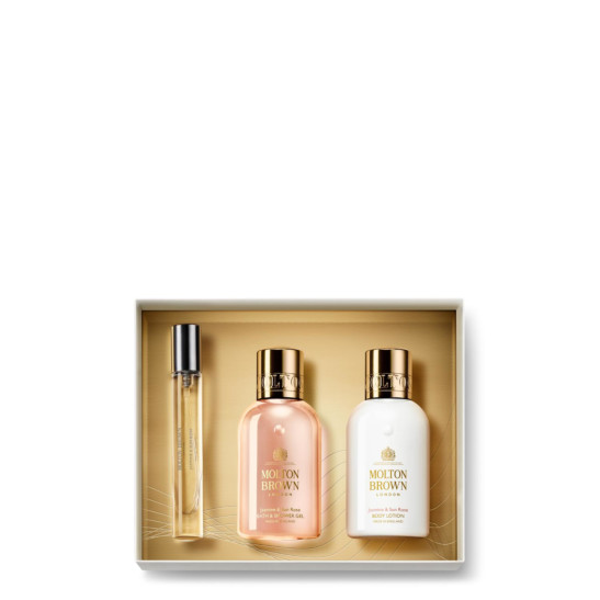 Jasmine & Sun Rose Fragrance Luxuries Gift Set