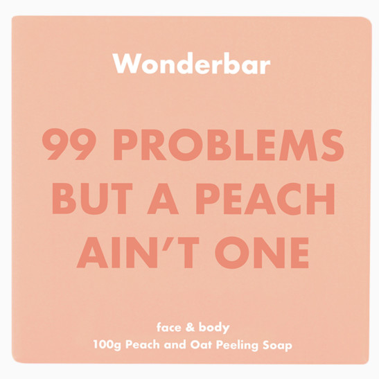 Peach & Oat Peeling Soap