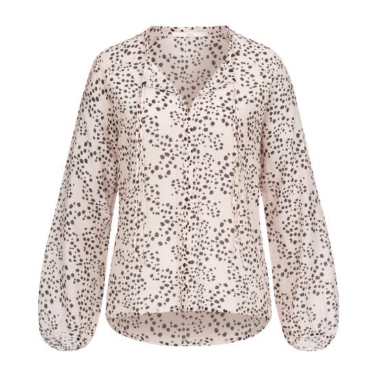 Bluse aus Cotton Silk