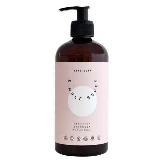Hand Soap - Geranium, Lavender, Patchouli