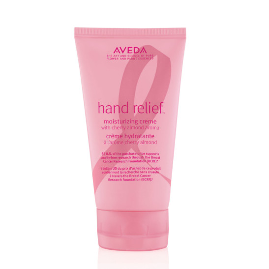 breast cancer awareness hand relief™ moisturizing creme with cherry almond aroma