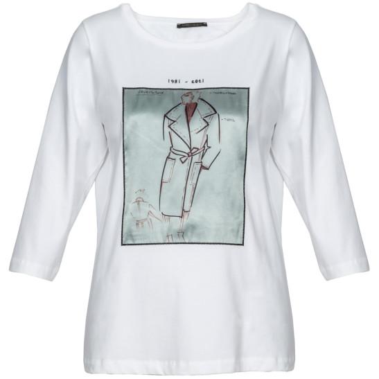 Shirt Valoroso aus Jersey