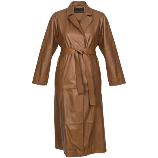 Mantel mit Gürtel zum Binden