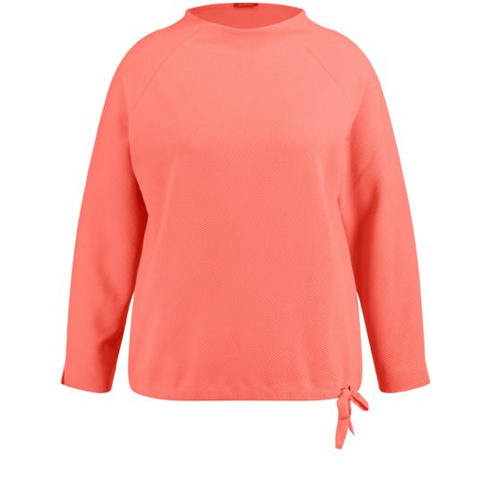 Shirt aus strukturiertem Jersey