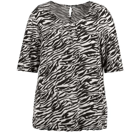 Blusenshirt im Zebra-Muster